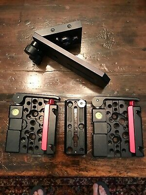 Kessler Kwik Release Recievers, Camera Plate, And Multi Angled Mounting Plate