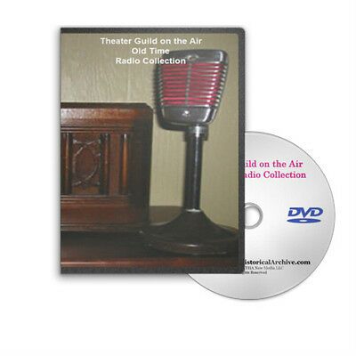 Theater Guild 74 Drama Old Time Radio OTR Shows on MP3 DVD - C301