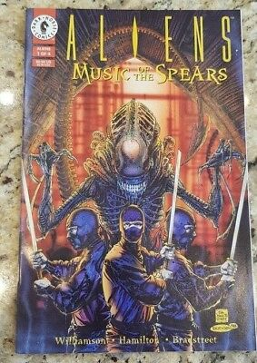 Aliens comic book - 'Music of the Spears' 1994 - 1 of 4 time warp condition!