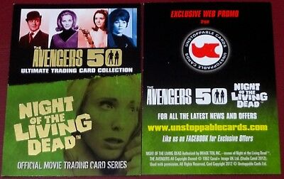 Avengers 50th / Night of the Living Dead Web Exclusive Promo Card by Unstoppable