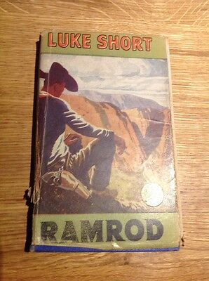 RAMROD by Luke Short Vintage Western Hardback 1951 Wild West Club