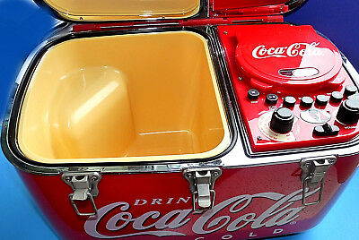 Coca Cola Coolbox Kühlbox mit Radio,CD-Player Original-Edition 2002 RARITÄT NEU!