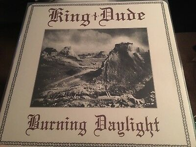 KING DUDE - Burning Daylight LP Death in June Of The Wand And The Moon Hexvessel