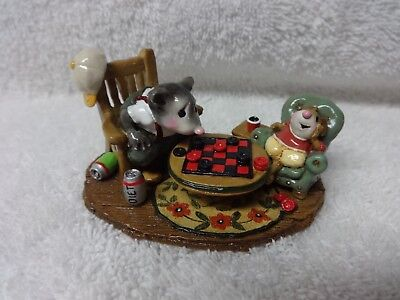 Wee Forest Folk Checker Chums M-273 MIB LTD ED SIGNED!!