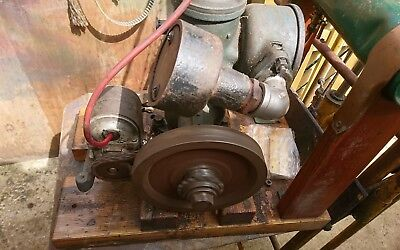 Stuart N Very Rare To Find Small Engine Stationary Engine Antiques An