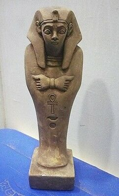 ANCIENT EGYPTIAN ANTIQUE RAMSES USHABTI Statue Limestone 1960-1810 BC