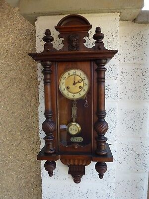 Antique Junghans Vienna Wall Clock.
