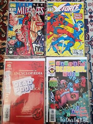 Deadpool Collection (Marvel, 300 comics, New Mutants 98, Cable, X-Men, Avengers)