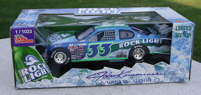Rolling Rock 33 Beer Model 1/24 Scale Monte Carlo Stock Car John Komarinski Nib