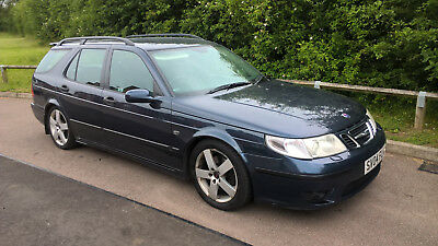 Saab 9-5 Aero Estate Auto 2004 Very Clean for Year with Service History