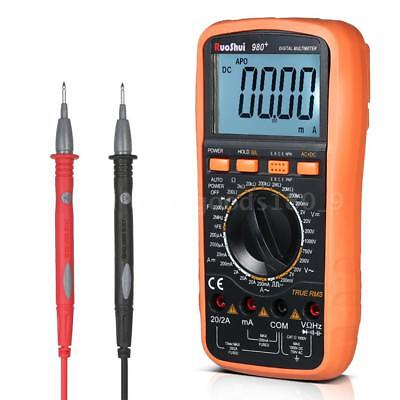 RuoShui 19999 Counts Digital Multimeter True RMS Multi-functional Multi P6Z2
