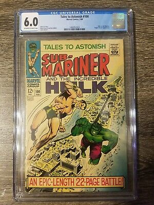 Tales To Astonish #100 CGC 6.0 puppet master appearance