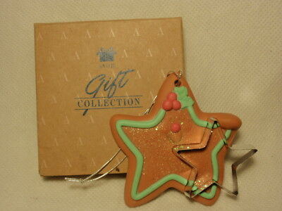Avon Gift Collection Christmas Star Cookie Cutter Cuties Ornament