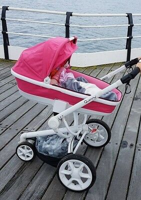 quinny mood/buzz pink carrycot only