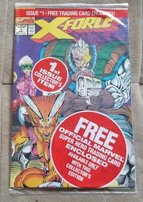 X-FORCE 1 - Key 1st Issue Collectors Item/x-force movie coming X-Force team card