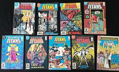 Tales of the Teen Titans (1984) Lot - 41, 42, 43, 45, 46, 47, 48, 49, 50