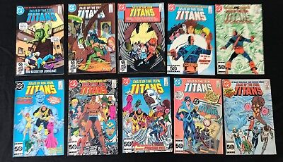 Tales of the Teen Titans (1984) Lot - 51, 52, 53, 54, 55, 56, 57, 58, 59, 60