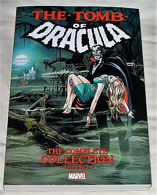 TOMB OF DRACULA: Complete Collection Volume 1 (paperback) Marvel Comics - Colan