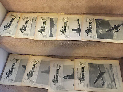Joblot of 9 x copies of The Aeroplane Spotter from 1946 - listed x