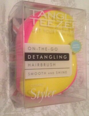 Tangle Teezer Compact Hair Brush Fluor