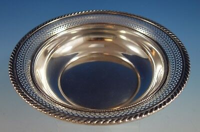 English Gadroon by Gorham Sterling Silver Fruit Bowl #251 Pierced Border (#2587)