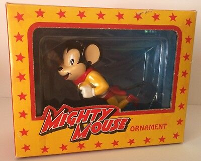 Mighty Mouse Ornament Nib Dark Horse Deluxe 2004