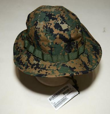 a5a0c2be0f9 U.S. Marine Corps USMC Sekri Woodland MARPAT Field Cover Boonie Hat - SMALL