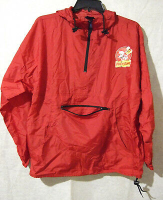 DOG N SUDS PULLOVER WINDBREAKER W/ Attached Storage / Carrying Pouch