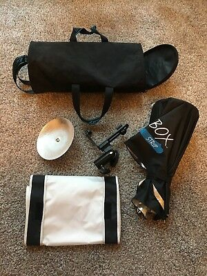 Westcott rapid box speedlite  strip softbox w/ upgraded deflector plate
