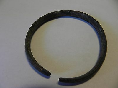 Big ancient  bronze age celtic bronze bracelet, very rare