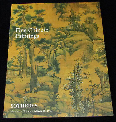 SOTHEBY'S FINE CHINESE PAINTINGS NY March 18, 1997 LANYING Catalogue