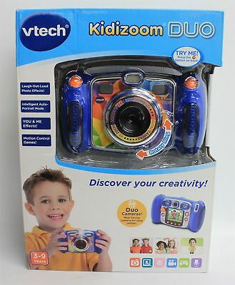 "BNIB VTECH 80-170803 Kidizoom DUO Blue Children's 2.4"" Screen Digital Camera"