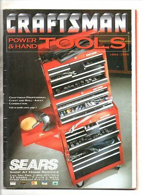 Sears craftsman power and hand tools catalog 1994-1995