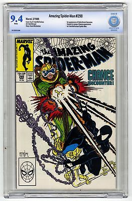 Amazing Spider-Man #298 CBCS 9.4 HIGH GRADE Marvel KEY 1st Eddie Brock McFarlane