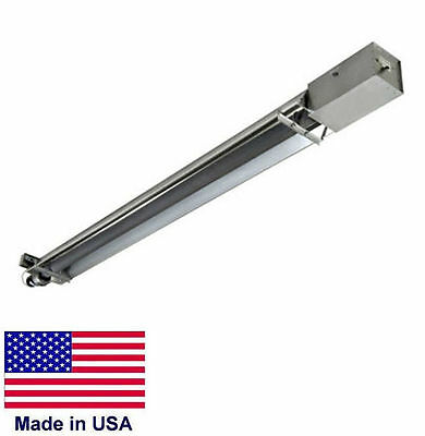 STRAIGHT TUBE HEATER Commercial - Infrared - Natural Gas - 20 Ft - 50,000 BTU