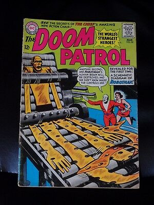 Doom Patrol #94 Good+ Or Better — No Reserve