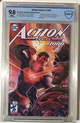 Action Comics #1000 Massafera Ultimate Edition CBCS SS 9.8 Limited To 250