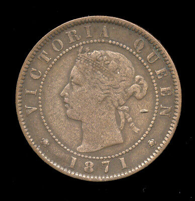 1871 Prince Edward Island ... One Cent (551-105*)