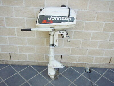 Johnson 2.3 hp outboard motor for dinghy, tinny, inflatable or canoe