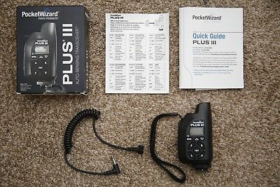 Pocket Wizard Plus  iii!! Great Condition!!