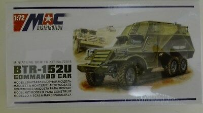 MAC Modellbausatz BTR-152U Commando Car 1:72