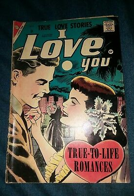 I Love You #16 (Dec 1957, Charlton) golden age romance comics gd only 1 on ebay