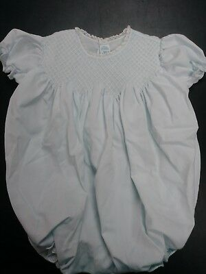 Beautiful Feltman Brothers  baby girl  baby blue outfit 3-6 mo reborn doll dress
