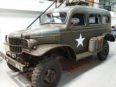 1941 WC 10 1/2 Ton Dodge Carryall
