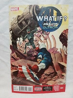 What If? Age of Ultron #4 (June 2014 Marvel) Captain America Comic Book