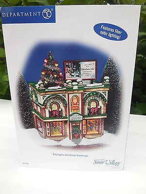 City Lights Christmas Trimmings 56.55348 Department 56 Snow Village