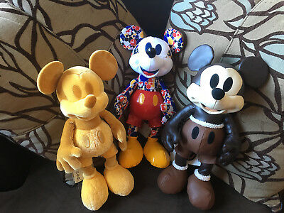 Mickey Mouse Memories Plushes - February, March & April BNWT