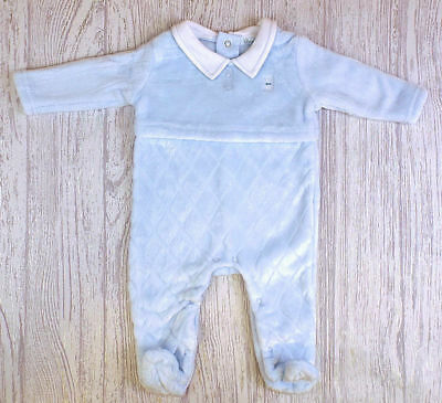 Boys minky all in one winter sleepsuit outfit 0-3-6-9 months baby shower gift