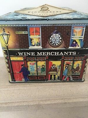 vintage Gift  Tin from Boots (winemaking kit )