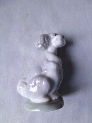 Lladro Collectors Society 07685 PUPPY DOG  PARTICIPATING IN ILLUSION